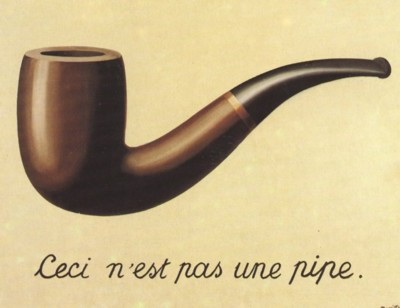 Rene Magritte The Treachery Of Images content